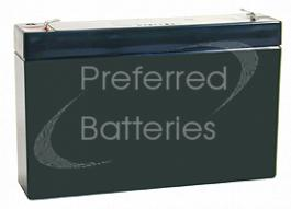 Kung Long WP7-6 Lead Acid Battery - Maintenance Free