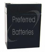 Teal 118-0023 Lead Acid Battery - Maintenance Free